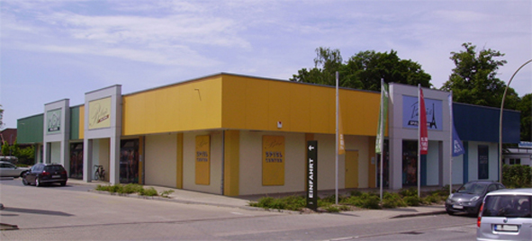 Entertainmentcenter, Geesthacht - Neubau