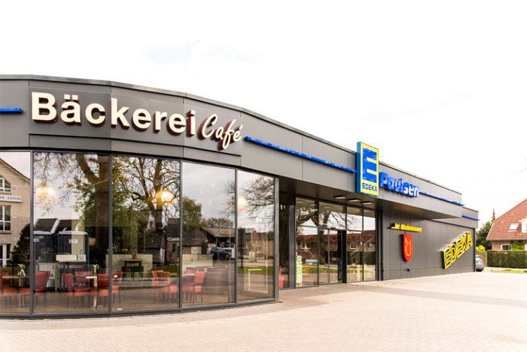 Edeka-Markt, Im Sande, Holm - Umbau