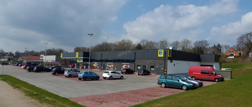 Edeka-Markt, Gehrn, Wacken - Neubau