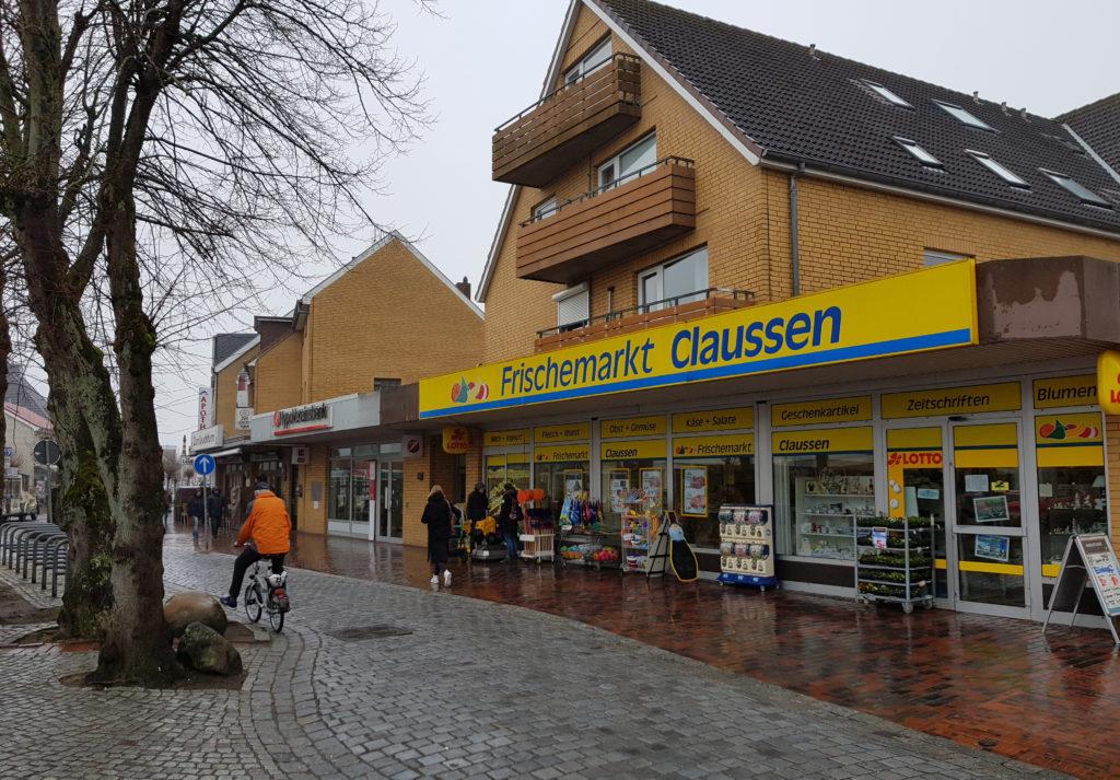 Edeka-Markt, Alleestrasse, Büsum - Umbau, vorher