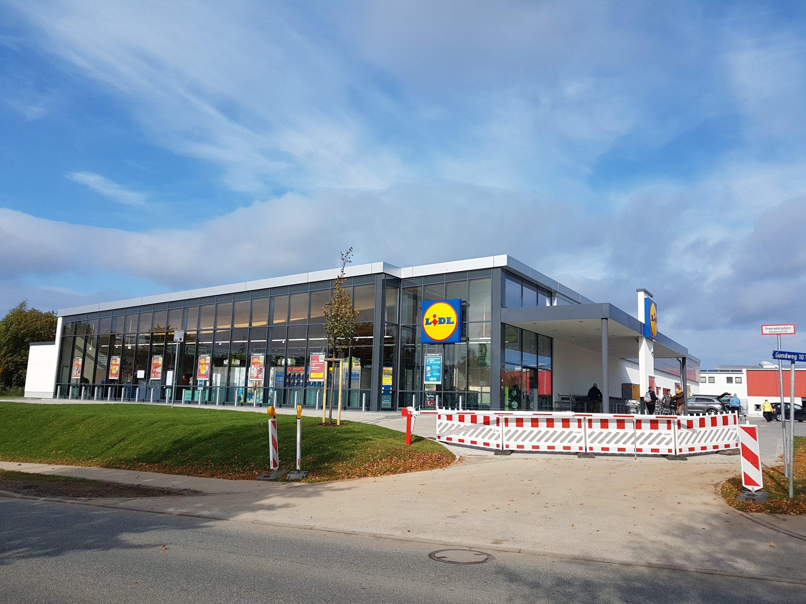 Lidl-Markt, Sundweg, Heiligenhafen