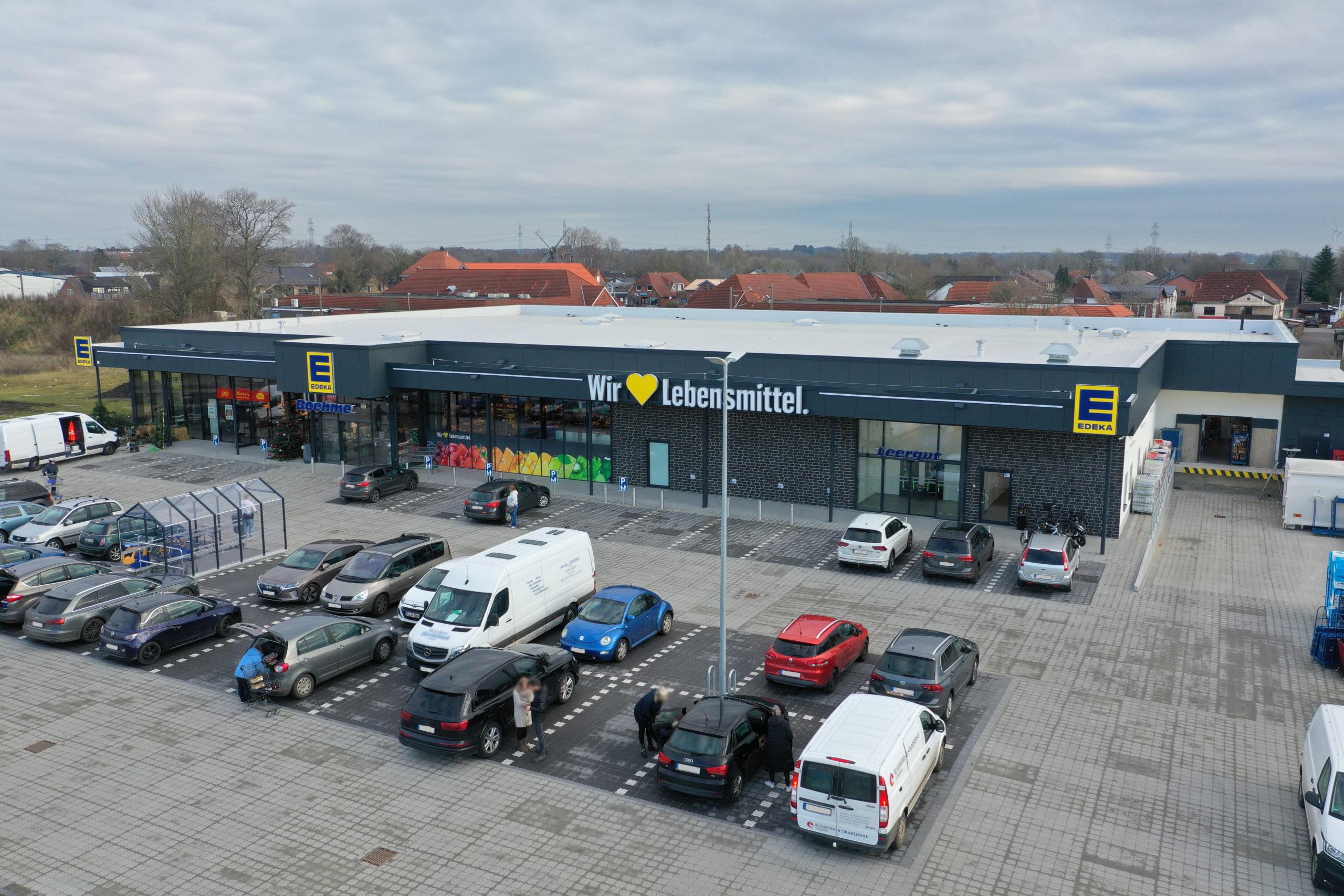 Edeka-Markt, Friedrich-Fröbel-Strasse, Tarp